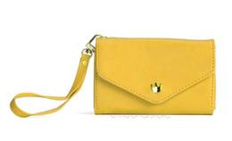 Wholesale Envelope Wallet Case For Iphone - Wholesale- Multifunctinal Envelope Purse Clutch Bag Coin Card Wrist Wallet Case for Iphone 4S 5 brandnew free shipping zx*B704#c3