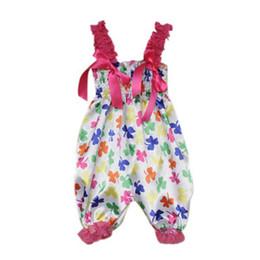 bonito braçadeiras pescoço Desconto Atacado-bonito da criança do bebê de uma peça cetim Lace Brace Jumpsuits Tutu estilo Romper Dress frete grátis