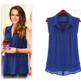 7b6e78d72 White button doWn collar shirt online shopping - new chiffon shirt women s  summer casual blouse