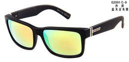 Wholesale Evoke Blue - Wholesale-2015 New Fashion Sunglasses Elmore Men Colorful Lens Outdoor Sports Sunglass evoke gafas de sol n09