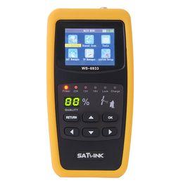 Wholesale Dvb Meter - Wholesale-Satlink WS-6933 DVB-S2 FTA C KU Band Digital Satellite Finder Meter