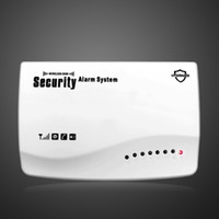 Wholesale Secure Gsm Alarm - Wholesale-New IOS Android APP Wireless Wired GSM SMS Home Secure Burglar Voice Alarm System Remote Control Setting Arm Disarm+Auto Dialing