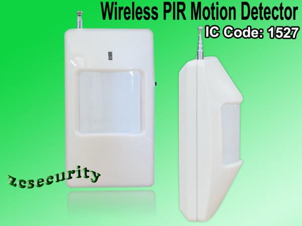 Wholesale-Wireless PIR-Sensorbewegungsdetektor Infrarotsensor für drahtloses Warnungssystem, Sicherheitssystem 10pcs / lot geben Verschiffen frei