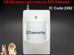 $enCountryForm.capitalKeyWord Canada - Wholesale-315Mhz 433Mhz Wireless PIR Sensor Infrared Motion Detector with Pet-immune Function 2pcs lot free shipping