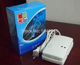 Wholesale Natural Gas Detectors - Wholesale-Independent Indoor High Sensitivity LPG LNG Coal Natural Gas Leak Detector Alarm Sensor EU Plug