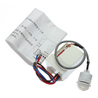 Wholesale Mini Timer Relays - Wholesale-Mini PIR Motion Sensor Detector for Timer Relay Automotive Caravan Alarm led light switch 100 degree detection