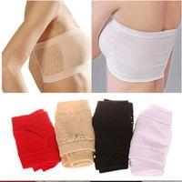 Wholesale Bandeau Sexy Boobs - Wholesale-1 X Hot Sale Women's Sexy Strapless Crop Top Vest Bra Bandeau Boob Tube brassiere