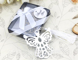 Wholesale Baby Bookmark Favors - Wholesale-30PCS LOT Angel Bookmark wedding baby shower baptism birthday party favors children gifts