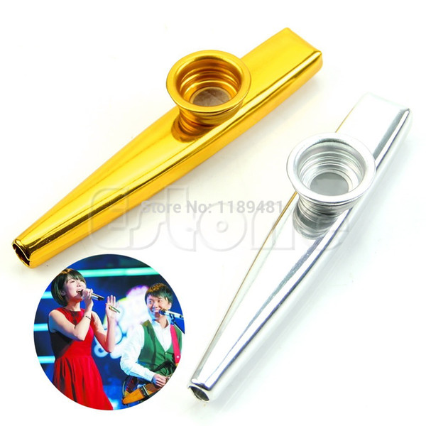 Harmonica harmonica tabs kids : Wholesale F85 Metal Golden Kazoo Mouth Harmonica Flute Kids Party ...