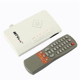 Wholesale Tuner Converter Box - Wholesale-DGU Digital to Analog TV Converter Box Stick Tuner Receiver W  Romote Antenna