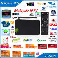 Wholesale Iptv Chinese Channels Box - Wholesale-Sale ! Malaysia Astro IPTV More 180 Channels , for Oversea Malaysia Taiwan HK Chinese dual core Android TV BOX HD IPTV