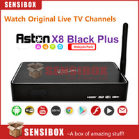 Wholesale Starhub Box - Wholesale-Aston X8 Black Plus Android IPTV box Malaysia edition watch Astro live football matches movies and drama substitute for starhub