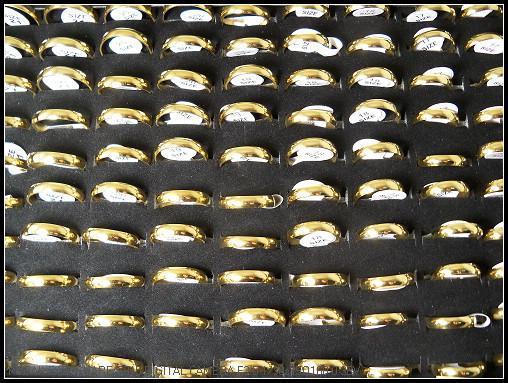 스테인리스 반지를 연마하는 4mm 유행 금 격판 덮개