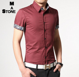 Discount Mens Red Button Down Shirt | 2017 Mens Red Button Down ...