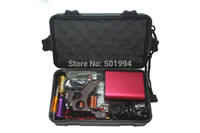 Wholesale Tattoo Kits For Cheap Beginner - Wholesale-Tattoo Kit Professional with Best Quality Permanent Makeup Machine For Tattoo Equipment Cheap Red Tattoo Machines