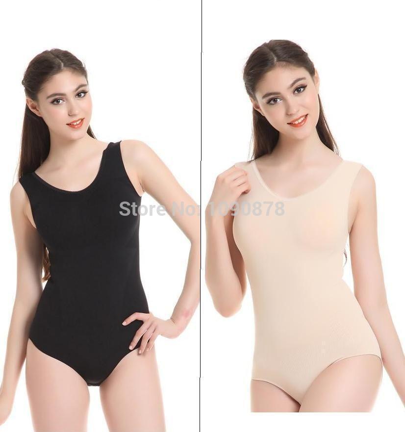 425a4844cc Wholesale-Women Body Shaper Lycra Beauty Bodysuit Waist Training Corset For  Slim Butt Lift Corrective Slimming Shapewear Bodysuit Women Online with ...