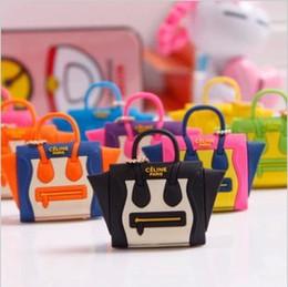 Wholesale Headphones Jack Plug Bag - Wholesale-Best selling lovely handbag dustproof plug mini satchel shoulder bag purse dust plug the headphone jack plug 1pcs