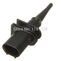 Wholesale Temperature Sensors For Shipping - Wholesale-Brand New Ambient Air Temperature Sensor For BMW 65816905133 Black Color Part Car Free Shipping