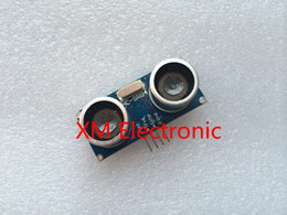 Wholesale Vacuum Transducer Sensor - Wholesale-Free shipping 50pcs Ultrasonic Module HC-SR04 Distance Measuring Transducer Sensor for Arduino Samples Best prices