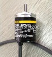 Wholesale Sensor Omron - Wholesale-E6A2-CWZ3C omron incremental rotary encoder Compact Encoder E6A2 choose Resolution P R 5 VDC free shipping