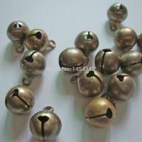 Wholesale Bronze Jingle Bells - Wholesale-Freeshipping!.10mm Antique bronze jingle bells.Indoor christmas oranment,Crat material,Handmade lacing bells, 200pcs lot