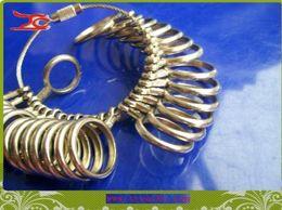 Finger all'ingrosso di Sizer dell'anello del metallo del calibro Gioielli Dimensioni Strumento 0-13 in Offerta