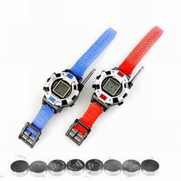 Wholesale Walkie Talkie Wristlinx Wrist Watch - Wholesale-Free Shipping 2 Pieces Lot New TWO WAY RADIO WALKIE TALKIE KIDS CHILD SPY WRIST WATCH WRISTLINX GADGET TOY WALKY TALKY