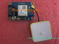 Wholesale GY NEO6MV2 new GPS module NEO6MV2 NEO M module with Flight Control EEPROM MWC APM2 large antenna
