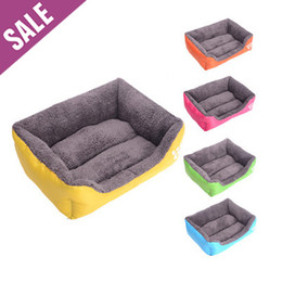 Wholesale Bedding For Dog Houses - Wholesale-2015 New Good price & Quality Easy Cleaning Pet bed, house for cats dog, bed for dog cats, small cats   large dog bed