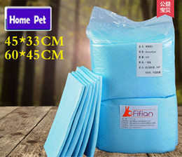 Wholesale Dryer For Pets - Wholesale-Dog Diapers Cat Dog Training Pads Super Absorbent Polymer Quicker Dry Antibacterial Pet Pads for Puppy S  M M58