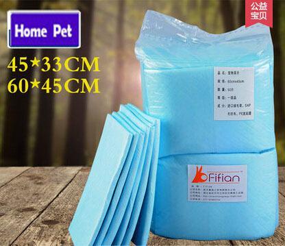 Coussinets d'entraînement de chien en gros couches-chien super absorbant polymère plus rapide sèche antibactérienne tampons pour animaux de compagnie pour chiot S / M M58