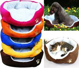 Wholesale Iron Like - Wholesale-Free shipping Cashmere-like soft warm Pet Bed Nest luxury warm dog bed