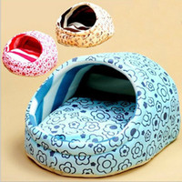 Wholesale Dog Kennel Litter - Wholesale-Pet House Dog Bed Dog Litter Pet Nest Kennel Sweet Slippers Dog Mats Winter is Not Cold Removable and Washable 1set lot