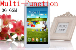 Wholesale Andriod Phone 512mb - Wholesale-New !!! 7 inch MTK8312 3G Andriod 4.2 Dual Sim Card Dual Cameras Core with Bluetooth WIFI flashligjt phone call Tablet PC