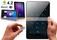 Wholesale Cheap Wifi Sim Tablets - Wholesale-cheap 7 inch A23 dual core 2G phone call tablet pc 512M 4G Bluetooth Sim Card Slot Android 4.2 WIFI Phablet
