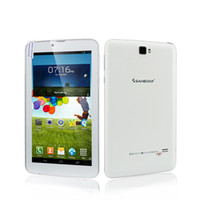 Wholesale Sanei Phone 3g - Wholesale-Free shipping Sanei G701 2G 3G cheapest phone call tablet MTK6572 MTK8312 Dual Core Dual SIM IPS Android 4.22 512M 4GB 8GB