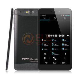 "Wholesale Pipo Tablet Calling - Wholesale-6.95"" Pipo T5 Talk 3G Phone Call Tablet PC MTK8382 Quad Core 1GB 8GB IPS HD 1024x600 OTG GPS Original Pipo Tablet"