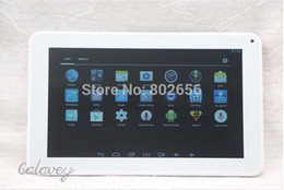 Wholesale Tablet Pcs Hdmi Inch - Wholesale-9 inch ATM7029 Tablet pc Dual Camera Google Android 4.4 Quad core HDMI Flashlight Bluetooth 512M 8G WIFI free shipping!!