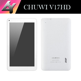 Wholesale Rk3188 Tablet Inch - Wholesale-Chuwi V17HD Quad core Tablet pc 7 inch IPS screen RK3188 1024X600 Android 4.4 Bluetooth 4.0 1GB 8GB HDMI