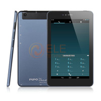 Wholesale Mtk6589t 16gb - Wholesale-7 inch Original PIPO T6 Phone Call Tablet PC IPS1280x 800 MTK6589T Quad Core 1.5Ghz 1GB+16GB GPS BT WIFI PIPO Tablet