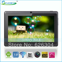 Wholesale Tablet Q88pro - Wholesale-NEW Arrival Q88pro A23 Tablet 7 Inch Dual core Dual Camera Android 4.4.2 512MB 4GB tablet pc WIFI