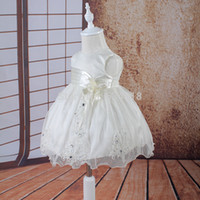 Wholesale Tutu Dresses For Low Prices - Wholesale-0014 Free shipping low price baby clothes for baptism girl baby brithdays party dress christening dresses flower girls dresses