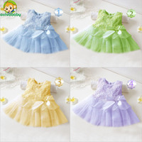 Wholesale Toddlers Tutu Bridesmaid Dresses - Wholesale-Avivababy Flower Girl Christening Wedding Party Pageant Dress Baby First Communion Dresses Toddler Gowns Child Bridesmaid Dress