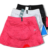 Wholesale Sports Skirt Tennis - Wholesale-100%cotton sport dress 2015 summer Korean fashion women tennis dress casual sport skirts free shipping,
