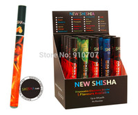 Wholesale New E Cigarette Gift - Wholesale-New e shisha pen Long lasting Full fruit Flavor disposable e hookah electronic cigarette with 500 puffs free shipping Xmas gift