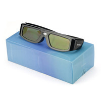 Wholesale Benq New 3d Glasses - Wholesale-SainSonic New 144Hz Technology 3D DLP-Link Projector Active Shutter Glasses for Sharp Acer BenQ Dell ViewSonic
