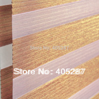 Wholesale Silver Layer Rainbow Blinds Zebra Blinds Double layer shutter fabric blinds curtain louvers