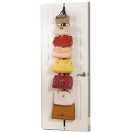 Wholesale Hat Clothes Organizer Hanging Cap Rack Holder Over Door Straps  With 16 Hook K5BO Over Door Hat Organizer Promotion