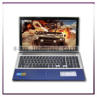 Wholesale Cheapest Laptop Dvd - Wholesale-Freeshipping the cheapest Ultrabook laptop Notebook 15 inch with DVD-RW 4GB RAM 500GB HDD D2500 Dual 1.86Ghz WIFI WIN 7 Webcam