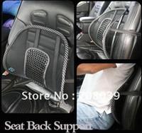 Wholesale Lumbar Support Massaging Car Seats - Wholesale-Free shipping Wholesale New arrival Car Seat Chair Massage Back Lumbar Support Mesh Ventilate Cushion Pad Massage pad 10 lot